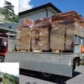 31.07.2014 - 2 to Lärchenschindeln von RAPOLD. Qualität und Service wie man es hier nicht kennt, das freut mich.