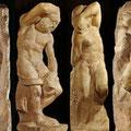 Michelangelo 1475-1564 | Ob diese Skulpturen vollendet sind oder nicht kann jeder für sich entscheiden.