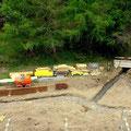 10.05.2014 - Heute Samstag die Bocciabahn definiert, wunderschön, für Jeizinen und alle Gäste. Mal schauen ob das Volke wenigstens später dann mitmacht.