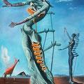 Salvador Dali 1904-1989 | Die brennende Giraffe | 1936 | Surrealismus pur