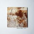 ohne Titel, 2009, Mischtechnik auf Papier, 18 x 18 cm [M015]