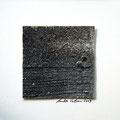 ohne Titel, 2009, Mischtechnik auf Papier, 18 x 18 cm [M095]