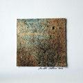 ohne Titel, 2009, Mischtechnik auf Papier, 18 x 18 cm [M047]