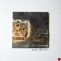 ohne Titel, 2009, Mischtechnik auf Papier, 18 x 18 cm [M011] - VERKAUFT