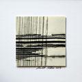 ohne Titel, 2009, Mischtechnik auf Papier, 18 x 18 cm [M110]