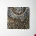 ohne Titel, 2009, Mischtechnik auf Papier, 18 x 18 cm [M014] - VERKAUFT