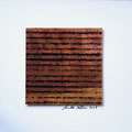 ohne Titel, 2009, Mischtechnik auf Papier, 18 x 18 cm [M080]