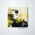 ohne Titel, 2009, Mischtechnik auf Papier, 18 x 18 cm [M023]