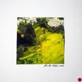 ohne Titel, 2009, Mischtechnik auf Papier, 18 x 18 cm [M025] - VERKAUFT