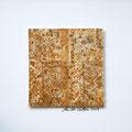 ohne Titel, 2009, Mischtechnik auf Papier, 18 x 18 cm [M100]