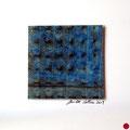 ohne Titel, 2009, Mischtechnik auf Papier, 18 x 18 cm [M038]