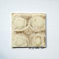 ohne Titel, 2009, Mischtechnik auf Papier, 18 x 18 cm [M097]