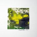 ohne Titel, 2009, Mischtechnik auf Papier, 18 x 18 cm [M024]