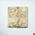 ohne Titel, 2009, Mischtechnik auf Papier, 18 x 18 cm [M098] - verkauft