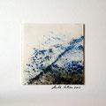 ohne Titel, 2009, Mischtechnik auf Papier, 18 x 18 cm [M070]