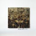 ohne Titel, 2009, Mischtechnik auf Papier, 18 x 18 cm [M045]