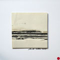 ohne Titel, 2009, Mischtechnik auf Papier, 18 x 18 cm [M109] - VERKAUFT