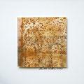 ohne Titel, 2009, Mischtechnik auf Papier, 18 x 18 cm [M101]