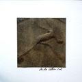 ohne Titel, 2009, Mischtechnik auf Papier, 18 x 18 cm [M081]