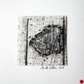 ohne Titel, 2009, Mischtechnik auf Papier, 18 x 18 cm [M022] - VERKAUFT