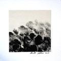ohne Titel, 2009, Mischtechnik auf Papier, 18 x 18 cm [M085]