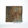 ohne Titel, 2009, Mischtechnik auf Papier, 18 x 18 cm [M048]