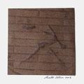 ohne Titel, 2009, Mischtechnik auf Papier, 18 x 18 cm [M115]