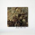 ohne Titel, 2009, Mischtechnik auf Papier, 18 x 18 cm [M041]