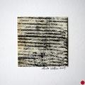 ohne Titel, 2009, Mischtechnik auf Papier, 18 x 18 cm [M032] - VERKAUFT