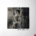 ohne Titel, 2009, Mischtechnik auf Papier, 18 x 18 cm [M019] - VERKAUFT
