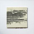 ohne Titel, 2009, Mischtechnik auf Papier, 18 x 18 cm [M106]