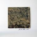 ohne Titel, 2009, Mischtechnik auf Papier, 18 x 18 cm [M042]