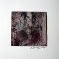 ohne Titel, 2009, Mischtechnik auf Papier, 18 x 18 cm [M018]