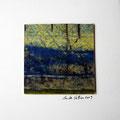 ohne Titel, 2009, Mischtechnik auf Papier, 18 x 18 cm [M017]