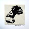 ohne Titel, 2009, Mischtechnik auf Papier, 18 x 18 cm [M089]