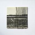 ohne Titel, 2009, Mischtechnik auf Papier, 18 x 18 cm [M112]