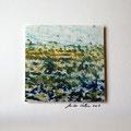 ohne Titel, 2009, Mischtechnik auf Papier, 18 x 18 cm [M064]