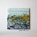 ohne Titel, 2009, Mischtechnik auf Papier, 18 x 18 cm [M061]