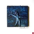 sin título, 2009, técnica mixta sobre papel, 18x18 cm [M001] - VENDIDO