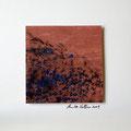 ohne Titel, 2009, Mischtechnik auf Papier, 18 x 18 cm [M057]