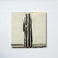 ohne Titel, 2009, Mischtechnik auf Papier, 18 x 18 cm [M108]