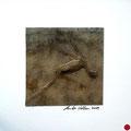 ohne Titel, 2009, Mischtechnik auf Papier, 18 x 18 cm [M082] - VERKAUFT