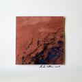 ohne Titel, 2009, Mischtechnik auf Papier, 18 x 18 cm [M055]