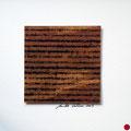 ohne Titel, 2009, Mischtechnik auf Papier, 18 x 18 cm [M077]