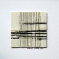 ohne Titel, 2009, Mischtechnik auf Papier, 18 x 18 cm [M105]
