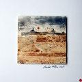 ohne Titel, 2009, Mischtechnik auf Papier, 18 x 18 cm [M009] - VERKAUFT