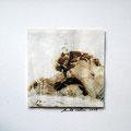ohne Titel, 2009, Mischtechnik auf Papier, 18 x 18 cm [M075]