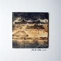 ohne Titel, 2009, Mischtechnik auf Papier, 18 x 18 cm [M008]