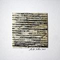 ohne Titel, 2009, Mischtechnik auf Papier, 18 x 18 cm [M030]