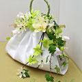 ライリー 生花のバッグ型ブーケ